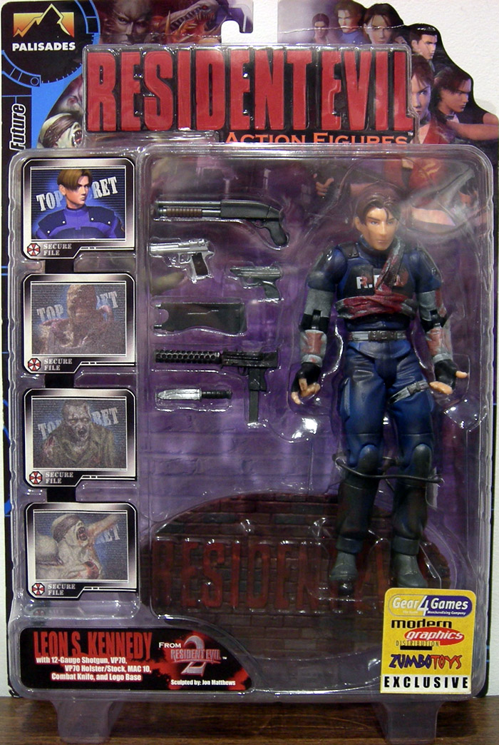 [Resident Evil] Si hubiera tenido estos muñecos...