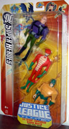 Lex Luthor Copperhead Mirror Master 3-Pack DC Justice League Unlimited