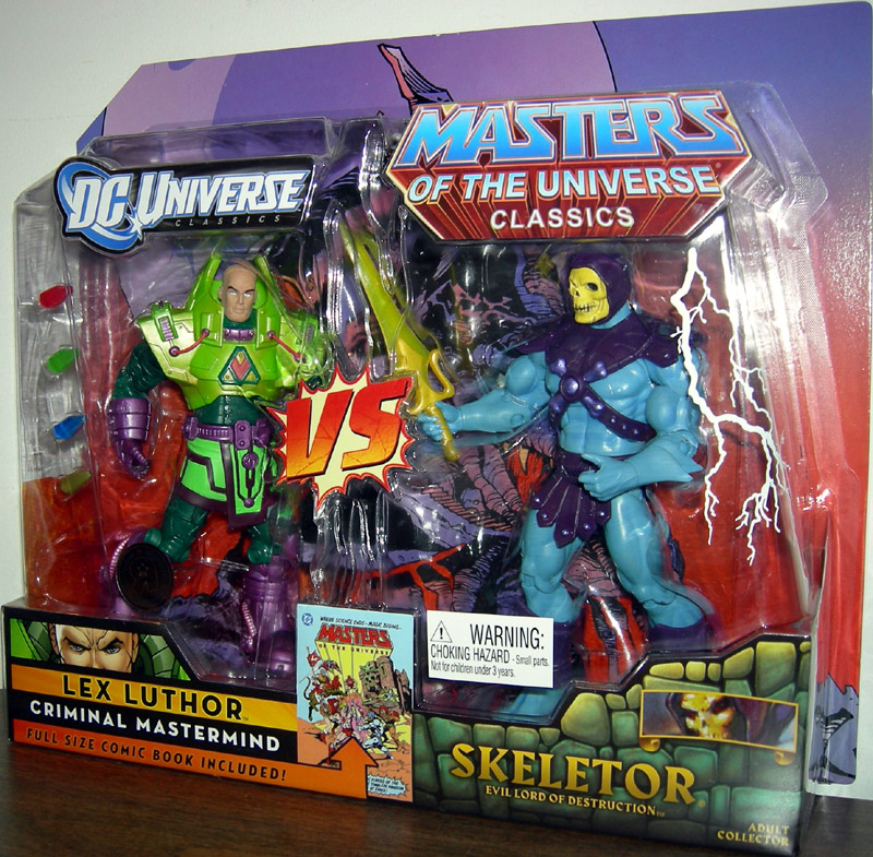 Lex Luthor vs. Skeletor