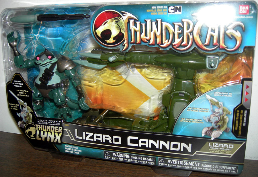 Lizard Cannon with Lizard
