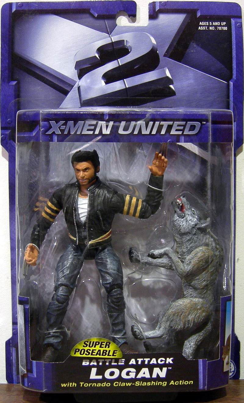 Battle Attack Logan (X-Men United)