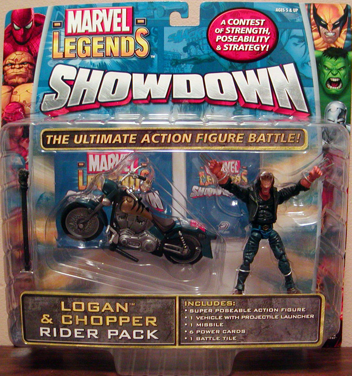 Logan & Chopper (Marvel Legends Showdown)