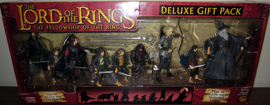 Lord Of The Rings Deluxe 9-Pack (Fellowship Of The Ring, red box)
