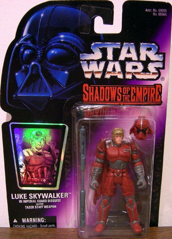 Luke Skywalker in Imperial Guard Disguise (Shadows of the Empire)