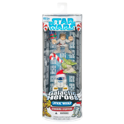 Luke Skywalker, Yoda & R2-D2 (Galactic Heroes Stocking Stuffers)