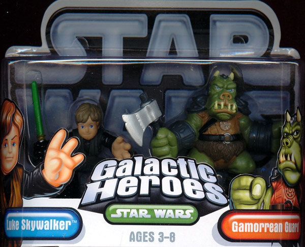Luke Skywalker & Gamorrean Guard (Galactic Heroes)
