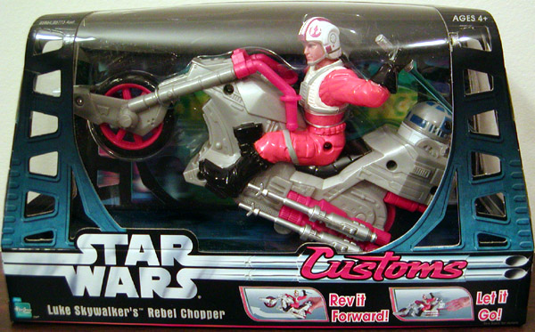 Luke Skywalker's Rebel Chopper