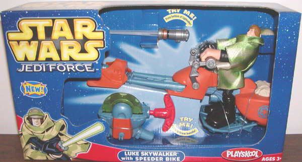 Luke Skywalker with Speeder Bike (Jedi Force)