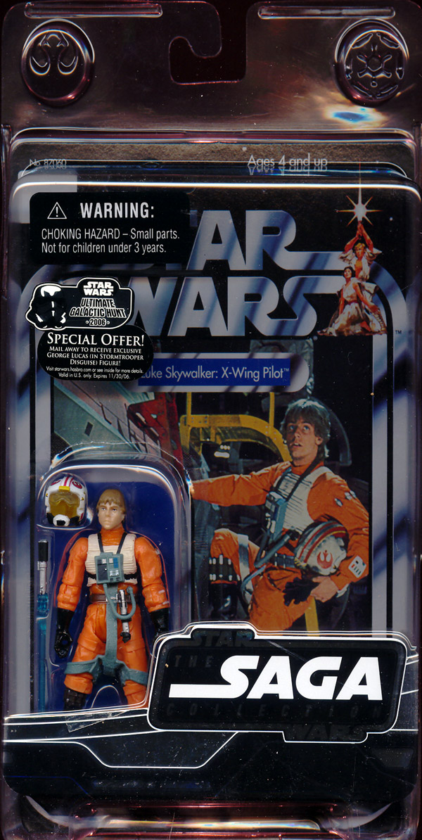 Luke Skywalker: X-Wing Pilot (Vintage The Saga Collection)