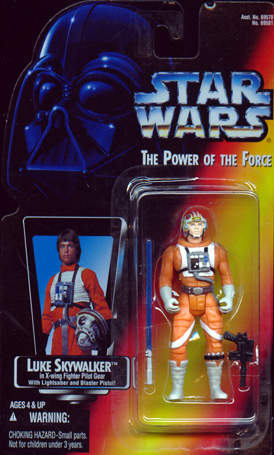 Luke Skywalker in X-wing Fighter Pilot Gear (Short Saber)