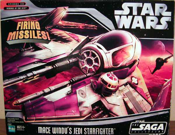 Mace Windu's Jedi Starfighter