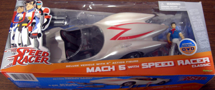 Mach 5 with Speed Racer Classic