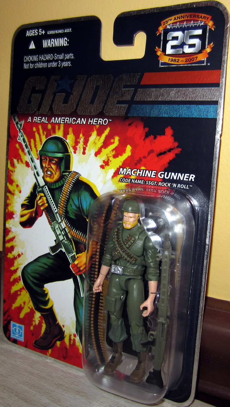 Machine Gunner (Code Name: SSGT. Rock 'N Roll)
