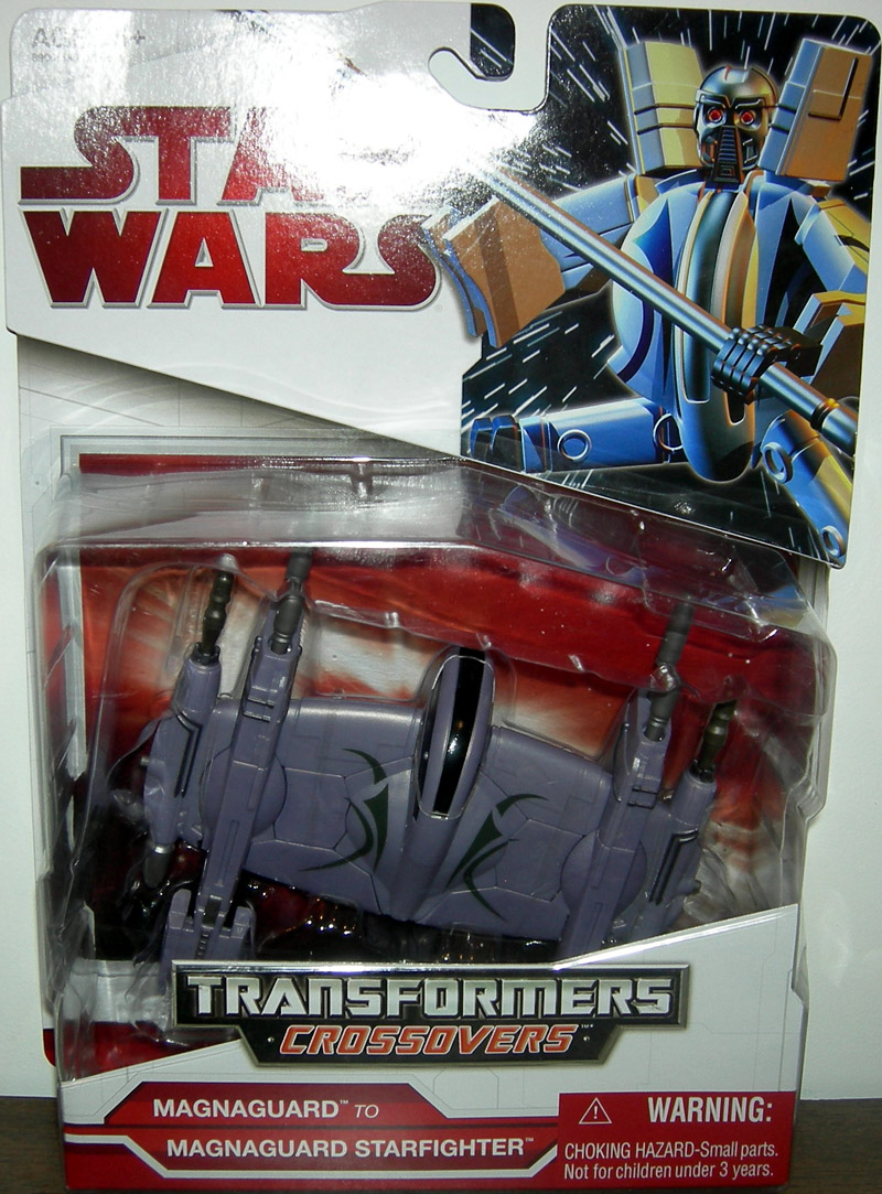 Magnaguard to Magnaguard Starfighter (Transformers Crossovers)