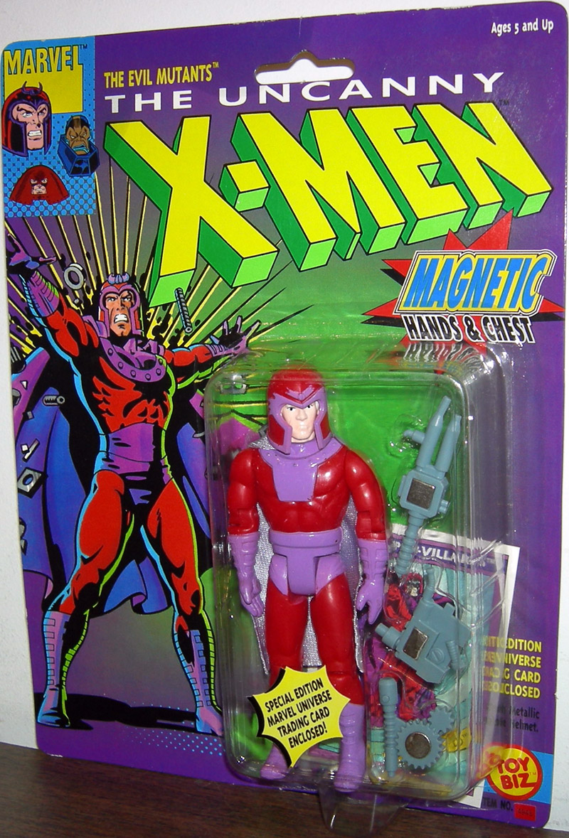 Magneto (Magnetic Hands & Chest)