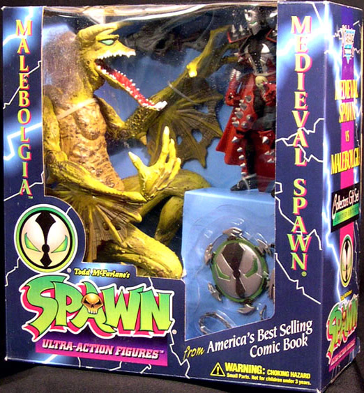 Malebolgia vs. Medieval Spawn 2-Pack