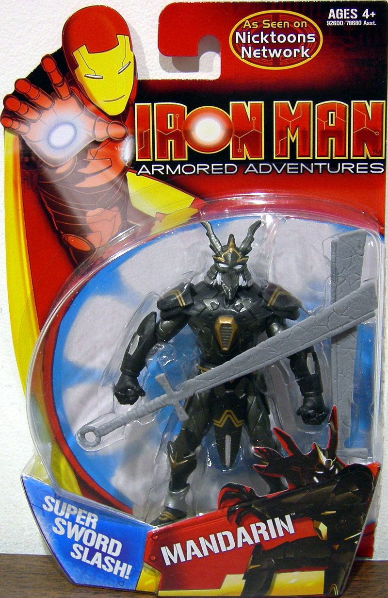 Toys And Adventures : Mandarin armored adventures