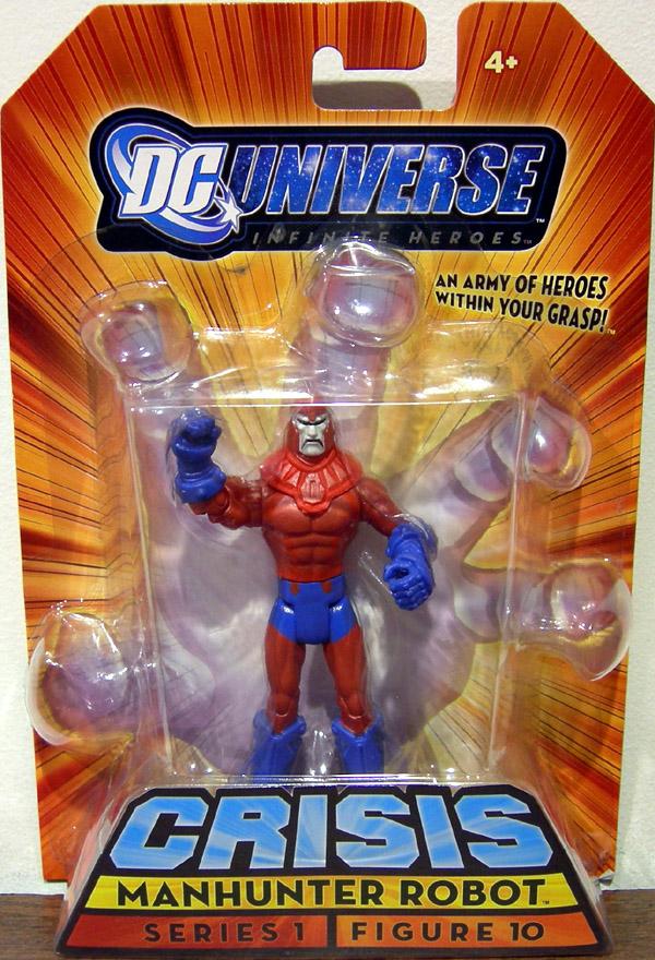 "DC Universe Infinite Heroes Crisis 3.75/"" Manhunter ROBOT FIGURE"