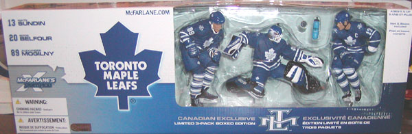 Toronto Maple Leafs 3-Pack (Canadian Walmart Exclusive)