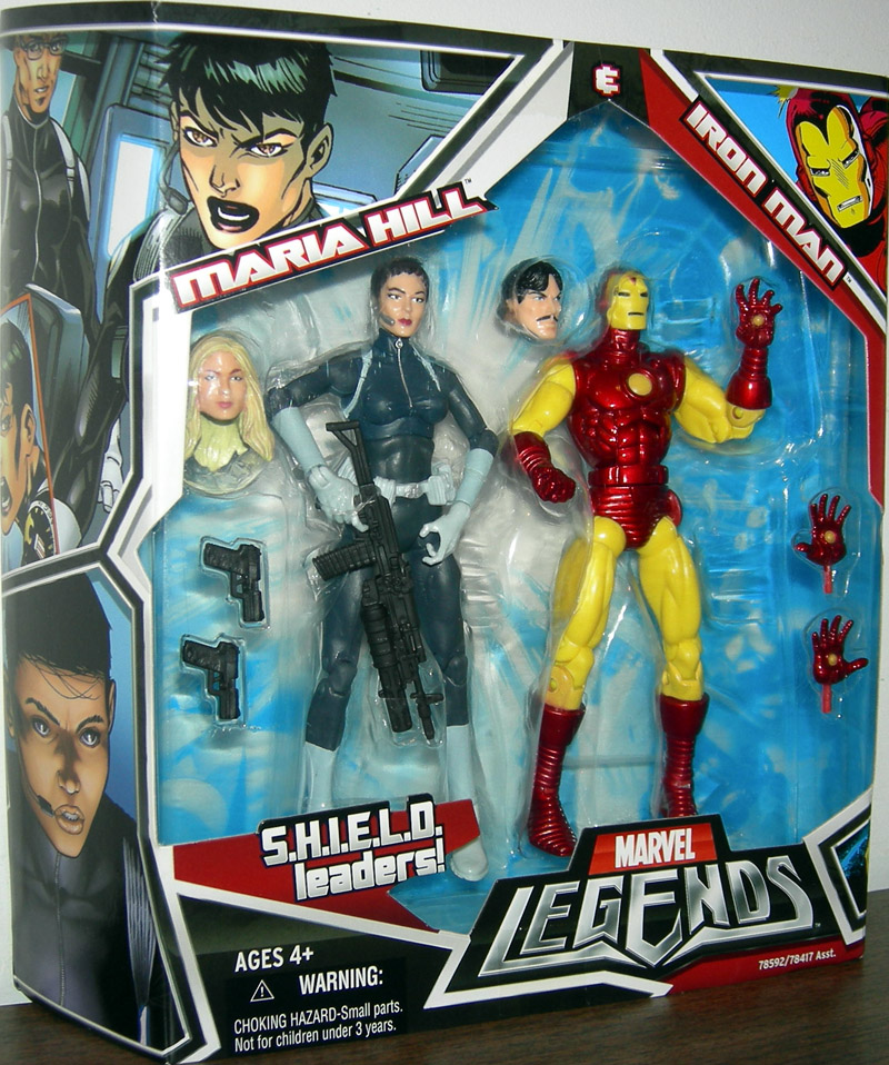 Maria Hill & Iron Man 2-Pack (Marvel Legends)