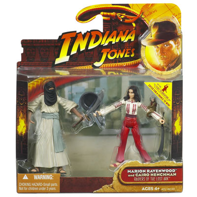 Marion Ravenwood vs. Cairo Henchman 2-Pack