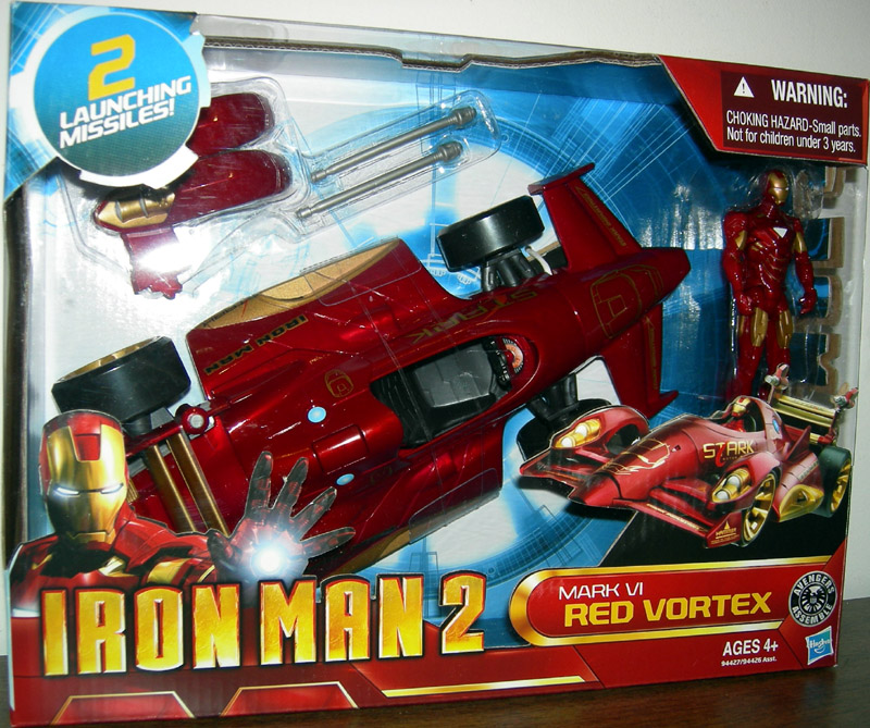 Mark VI Red Vortex (Iron Man 2)