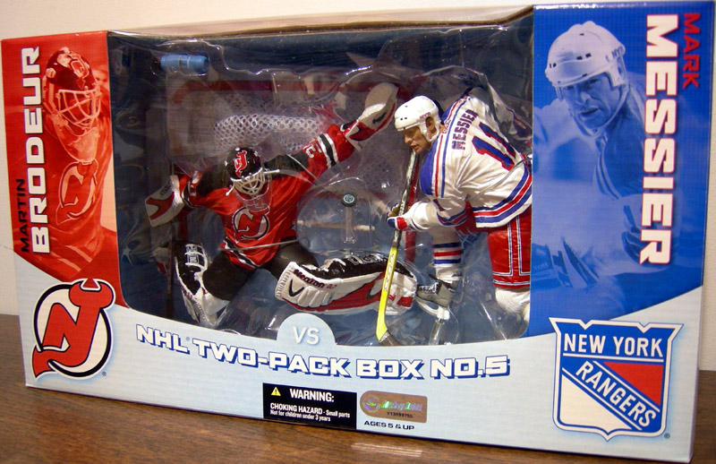 Martin Brodeur vs. Mark Messier