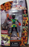Marvel Girl (Marvel Legends, Queen Brood Series, black variant)