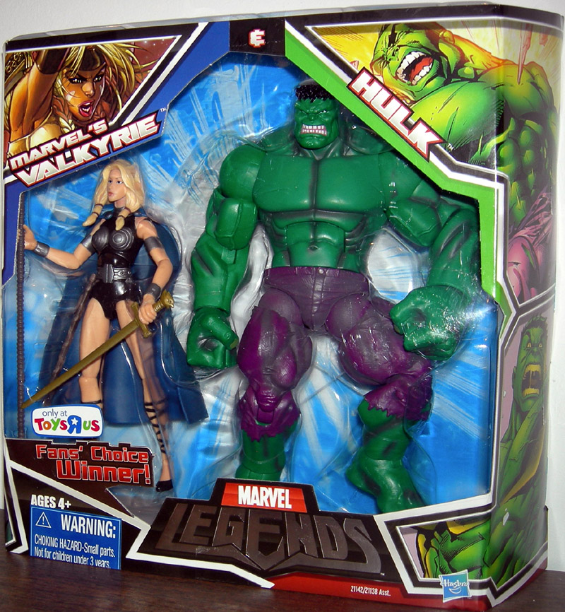 Marvel's Valkyrie & Hulk (Marvel Legends)