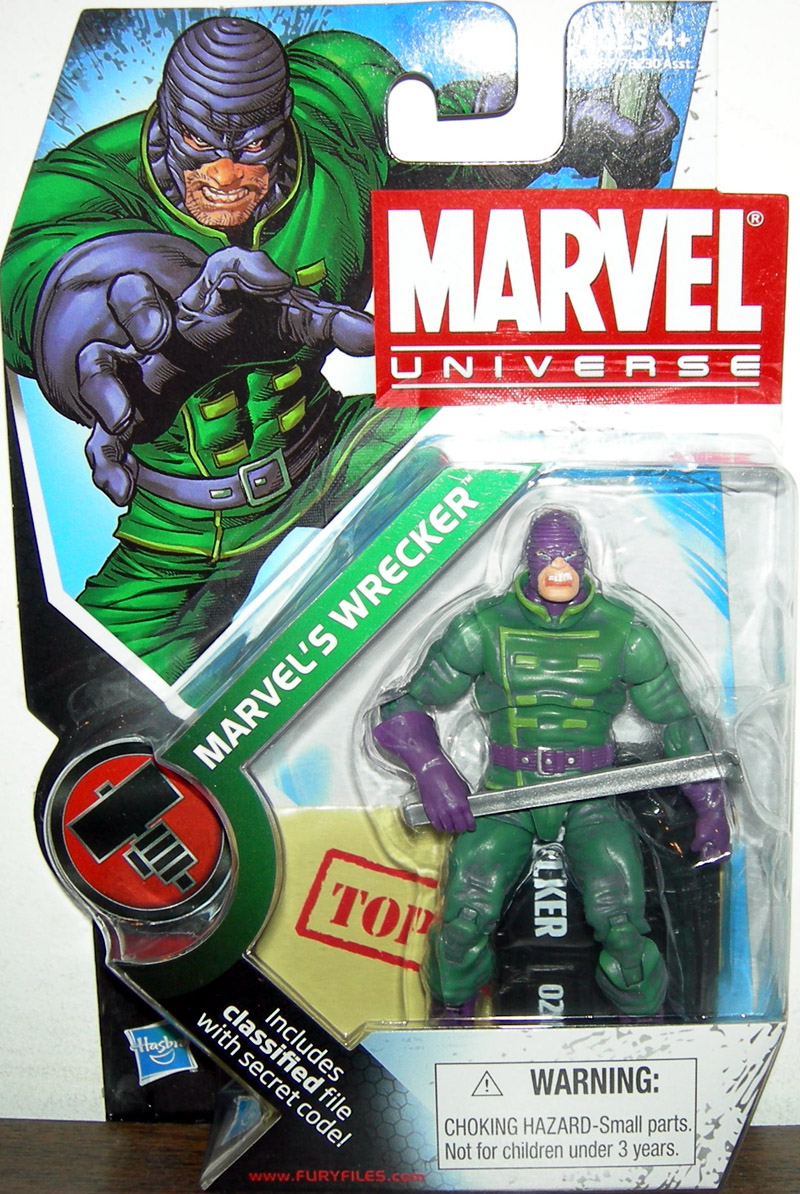 Marvel's Wrecker (Marvel Universe, series 2, 020)