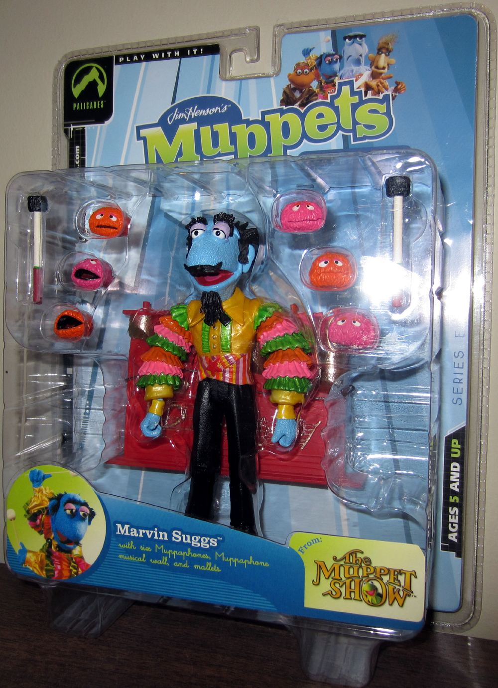 Marvin Suggs (multi-colored shirt)