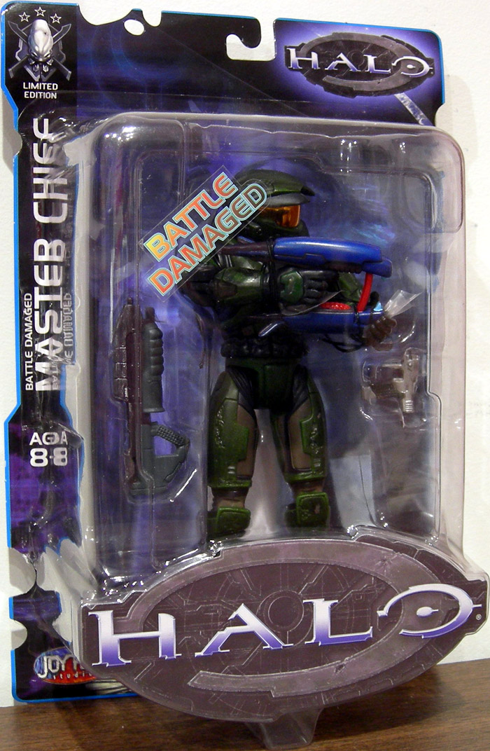 Battle Damaged Master Chief (Limited Edition)