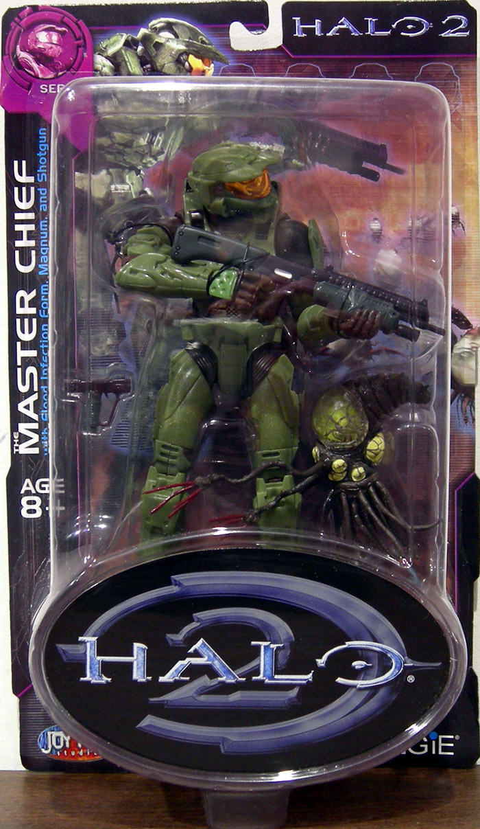 Master Chief (v.4) with Flood Infection Form (Series 8)