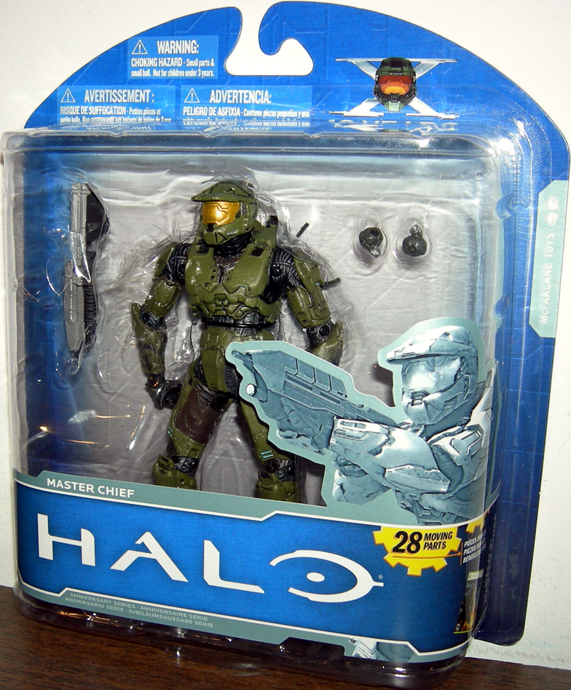 Platinum Master Chief (10th Anniversary, variant)