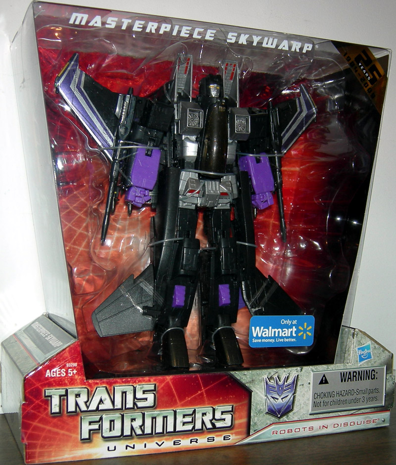 Masterpiece Skywarp