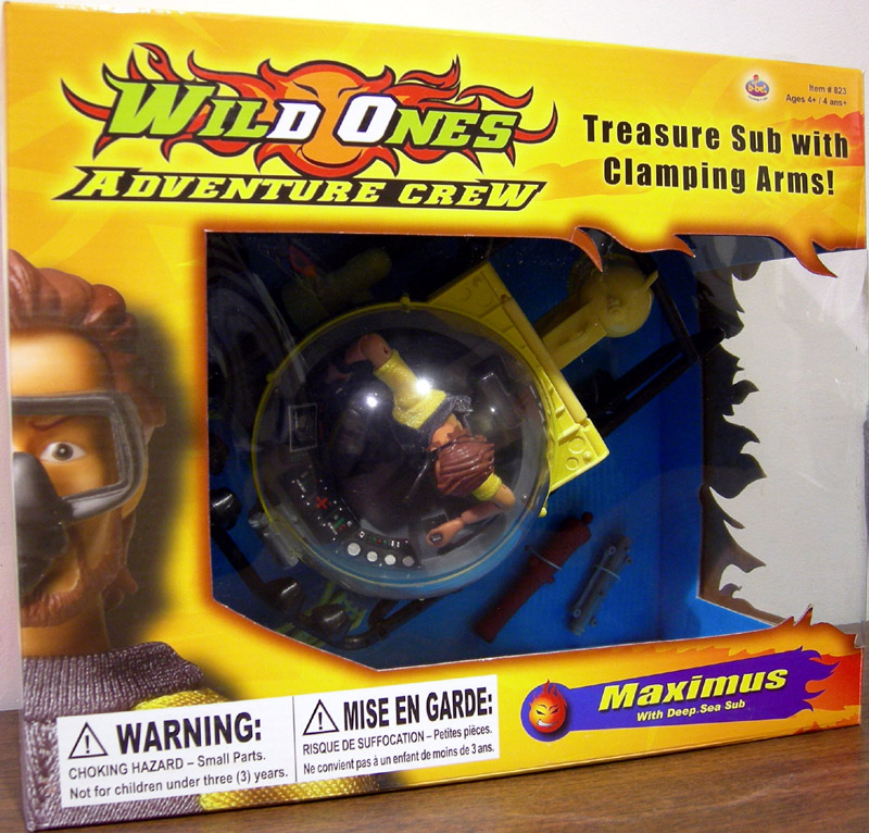 B-Bel Wild Ones Adventure Crew Deep Sea Diver and Sub