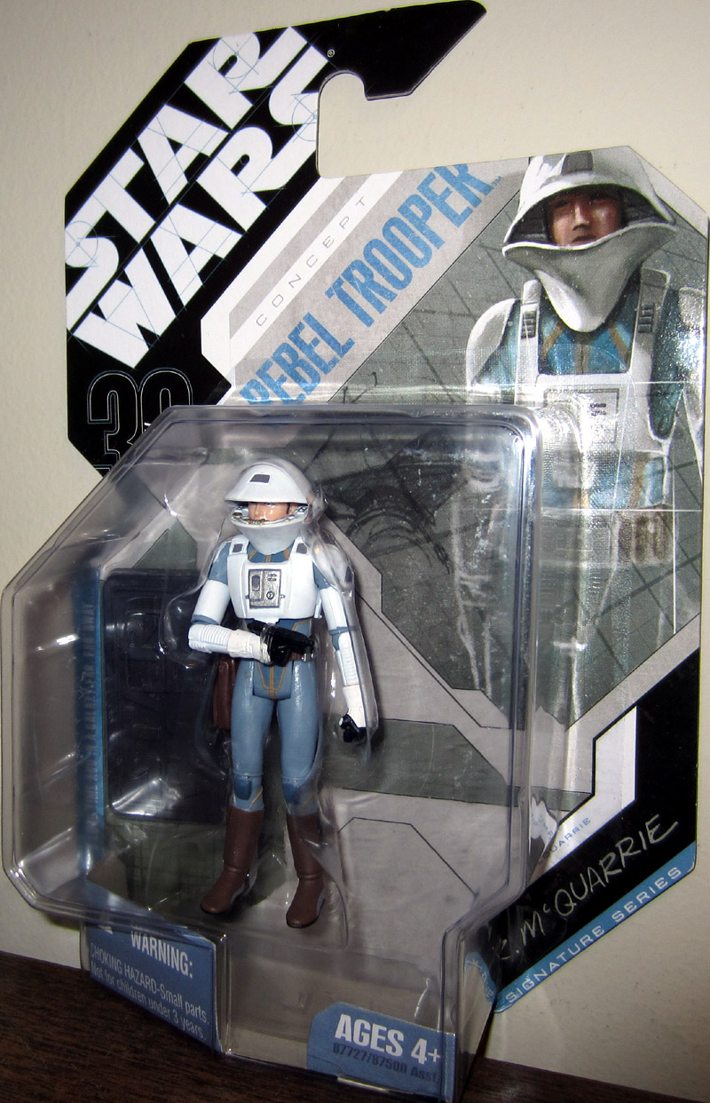 McQuarrie Concept Rebel Trooper (30th Anniversary, No. 60)