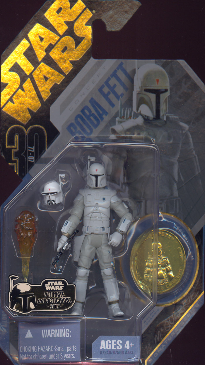 McQuarrie Concept Boba Fett 30th Anniversary 15 Ultimate Galactic Hunt