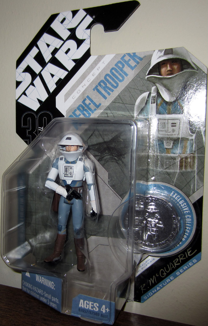 McQuarrie Concept Rebel Trooper (30th Anniversary, No. 60, with coin)