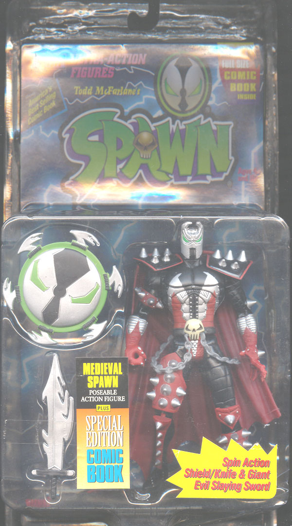 Medieval Spawn (black, lightning card)