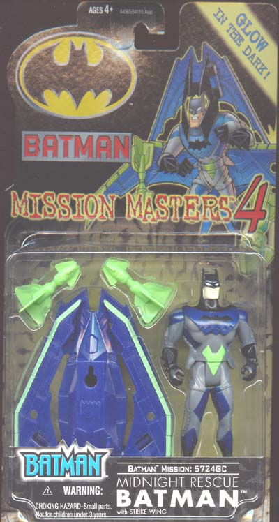 Midnight Rescue Batman (Mission Masters 4)