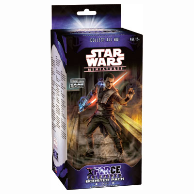 Star Wars Miniatures The Force Unleashed Booster Pack 1
