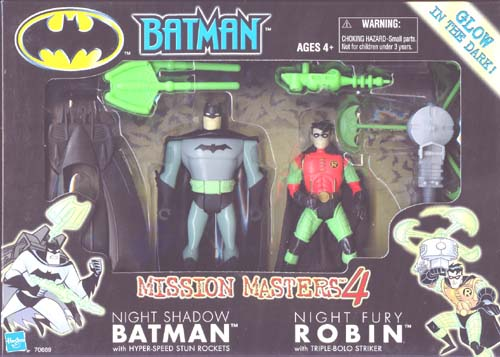Night Shadow Batman & Night Fury Robin (Mission Masters 4)