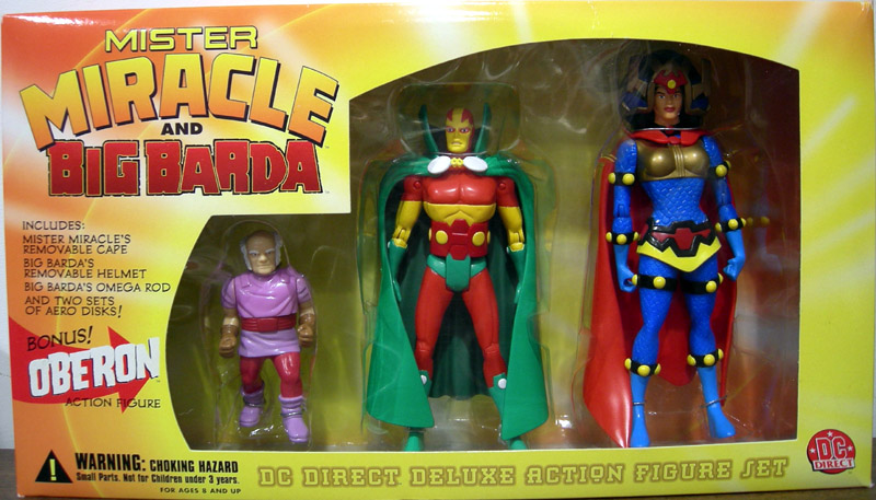 Mister Miracle and Big Barda (DC Direct)