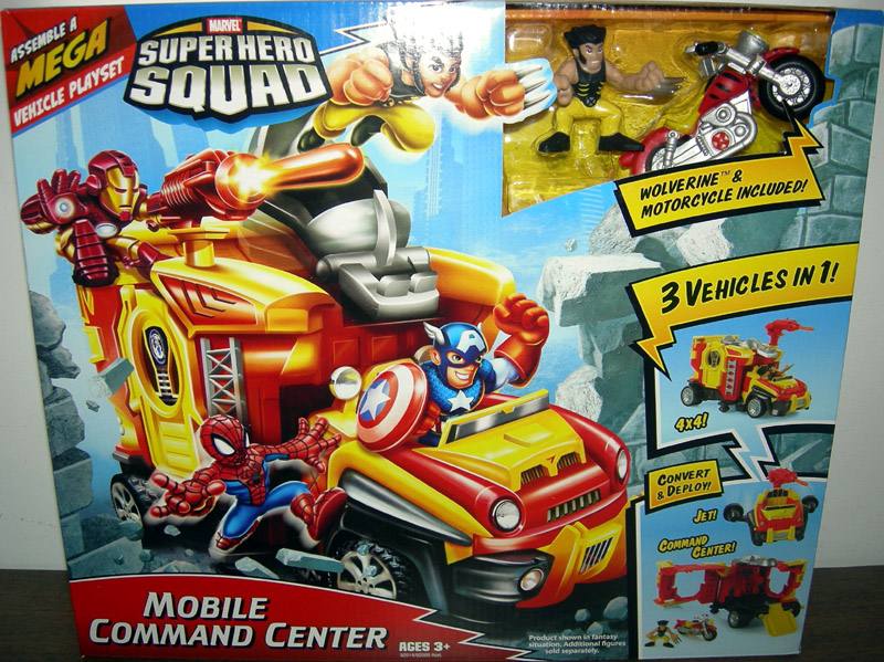 Mobile Command Center (Super Hero Squad)