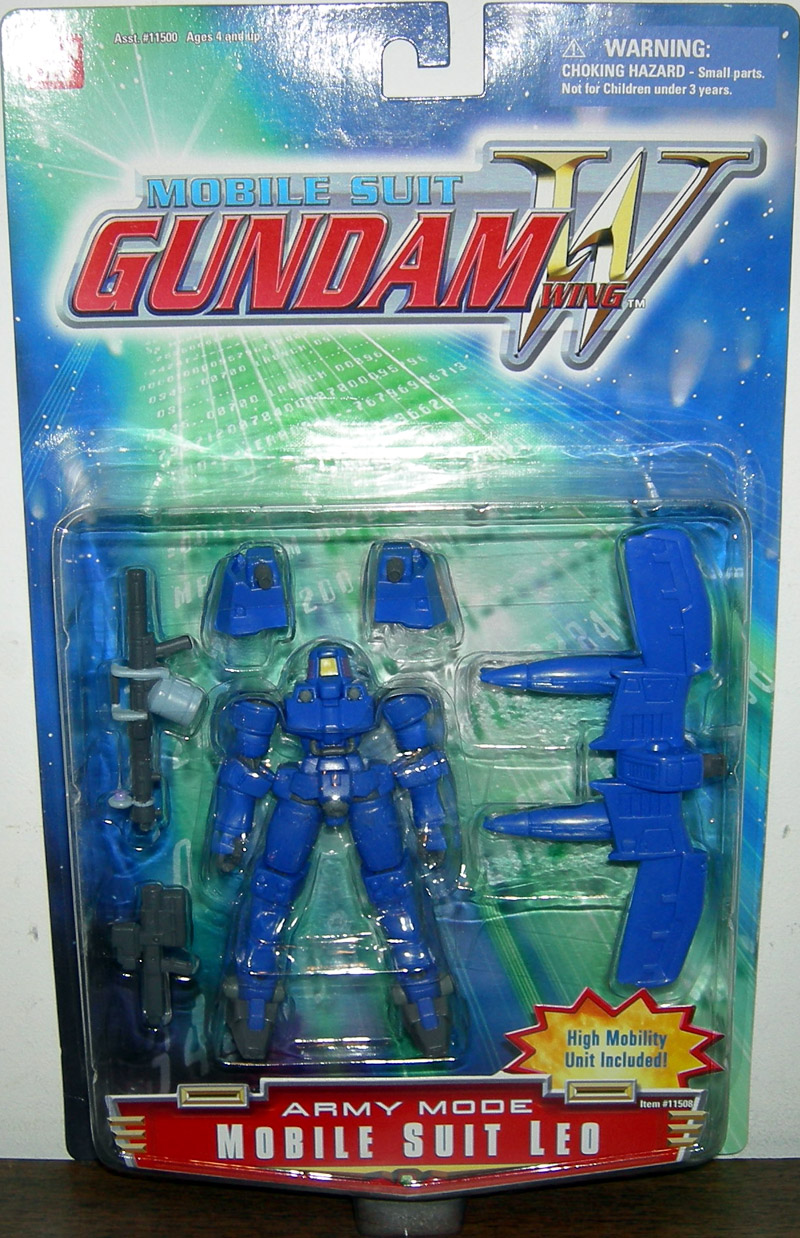 Mobile Suit Leo (blue army mode)