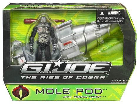 Mole Pod with Terra-Viper (The Rise of Cobra)