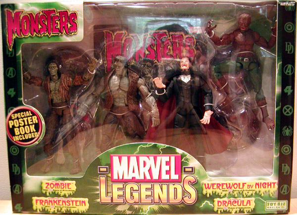 Monsters 4-Pack (Marvel Legends)