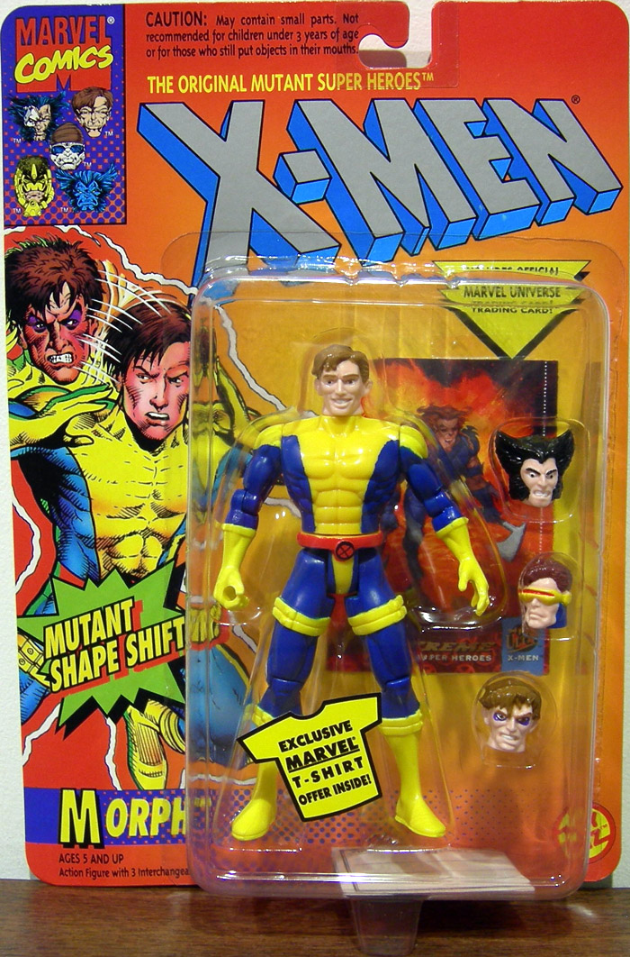 Morph Action Figure X Men Mutant Shape Shifter Toy Biz