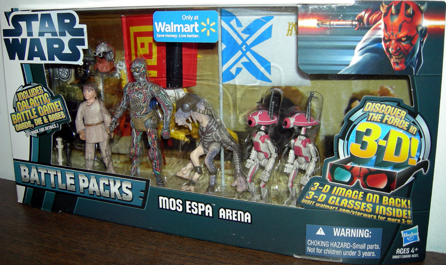 Mos Espa Arena 5-Pack (Walmart Exclusive)